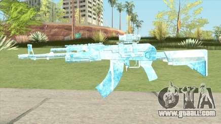 AK47 Glacier (Ice Scope) for GTA San Andreas