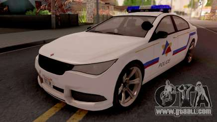 Ubermacht Oracle 2014 Hometown PD Style for GTA San Andreas