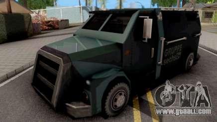 Securicar from GTA LCS for GTA San Andreas