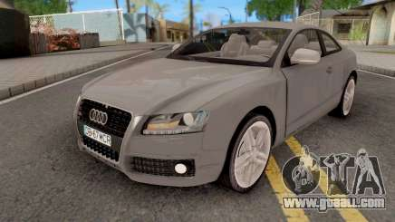 Audi S5 Romanian Plate for GTA San Andreas