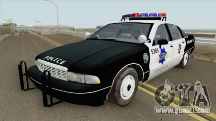 Chevrolet Caprice 1991 Police for GTA San Andreas