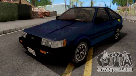 Toyota Levin 1985 for GTA San Andreas