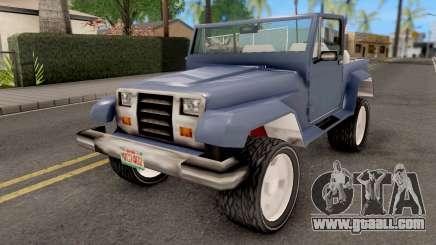 Mesa from GTA VCS for GTA San Andreas