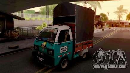 Suzuki Carry Con Estacas for GTA San Andreas