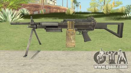 SOF-P FN MK48 (Soldier of Fortune) for GTA San Andreas