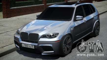 BMW X5M Grey for GTA 4