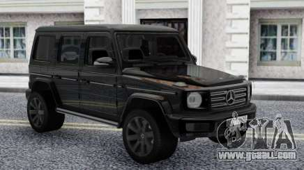 Mercedes-Benz G500 Offroad Black for GTA San Andreas