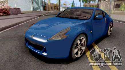 Nissan 370Z Blue for GTA San Andreas