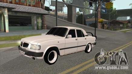 Volga 3110 BlackWhite for GTA San Andreas