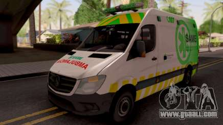 Mercedes-Benz Sprinter Ambulancia Argentina for GTA San Andreas