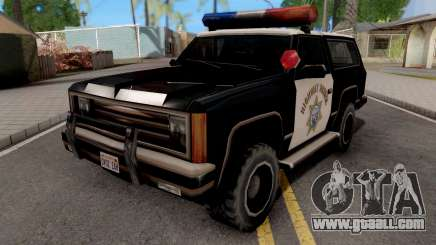 SAHP Ranger for GTA San Andreas