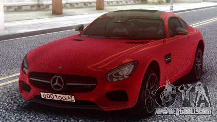 Mercedes-Benz Red AMG GT for GTA San Andreas