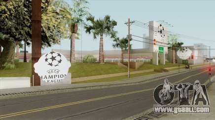 UEFA Champions League Stadium (2010-2012) for GTA San Andreas