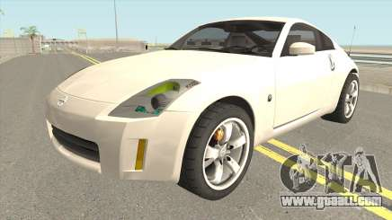 Nissan 350Z HQ for GTA San Andreas