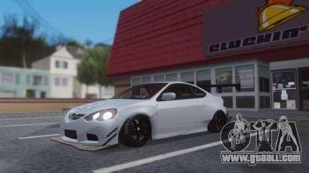 Honda Integra White Sport for GTA San Andreas
