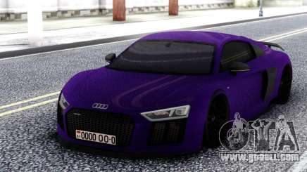 Audi R8 V10 MK1 for GTA San Andreas