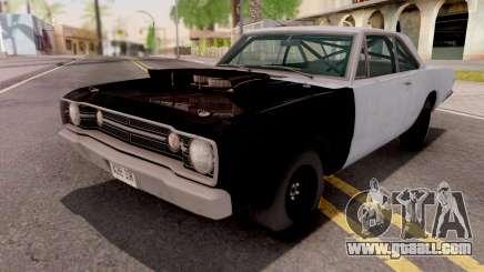 Dodge Dart HEMI Super Stock 1968 for GTA San Andreas