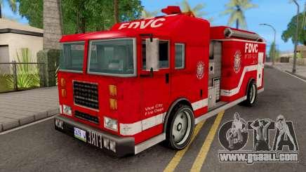 Firetruck from GTA VCS for GTA San Andreas