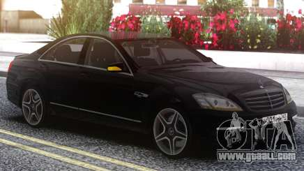 Mercedes-Benz W221 Black Edition for GTA San Andreas