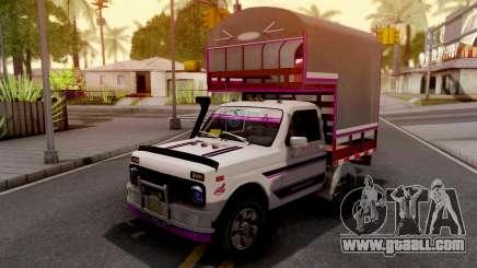 Lada Niva Con Estacas for GTA San Andreas
