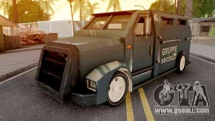 Securicar from GTA VCS for GTA San Andreas