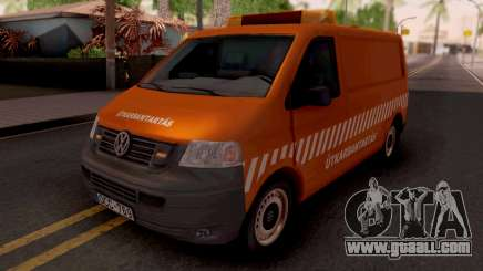 Volkswagen Transporter T5 Utkarbantartas for GTA San Andreas