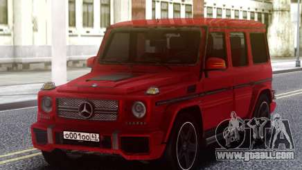 Mercedes-Benz G65 Red AMG for GTA San Andreas