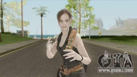Claire Redfield Classic Lost MC for GTA San Andreas