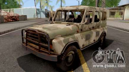 UAZ 469 Hard Top for GTA San Andreas