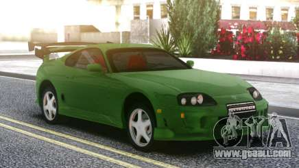 Toyota Supra Green for GTA San Andreas