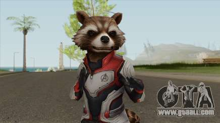 Rocket (Avengers End Game) for GTA San Andreas