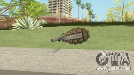Grenades F1 for GTA San Andreas