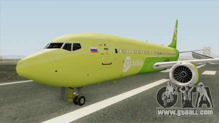 Boeing 737 MAX (S7 Airlines Livery) for GTA San Andreas