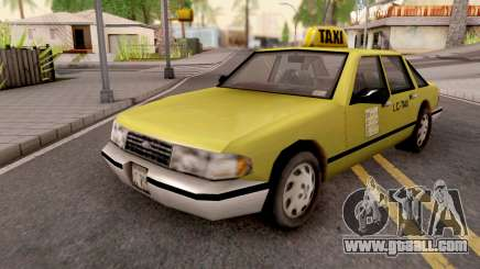 Taxi from GTA 3 for GTA San Andreas