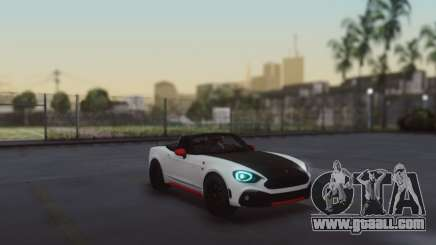 Fiat 124 Spider for GTA San Andreas