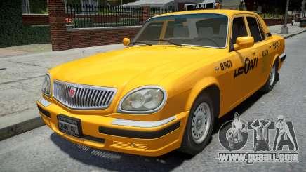 GAZ 31105 Volga Taxi 2004 LC for GTA 4