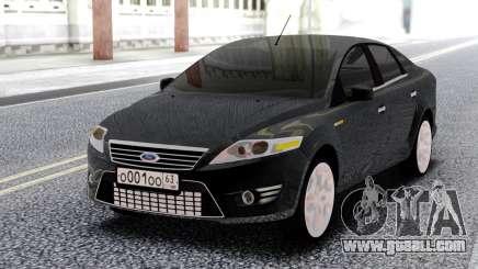 Ford Mondeo Sedan Black for GTA San Andreas