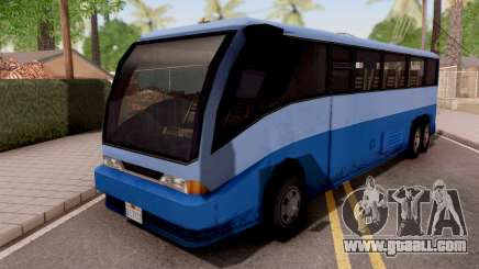Coach from LCS for GTA San Andreas