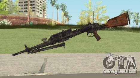 COD WW2 - Breda 30 MG V1 for GTA San Andreas