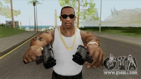 CS-GO Alpha Glock-18 for GTA San Andreas