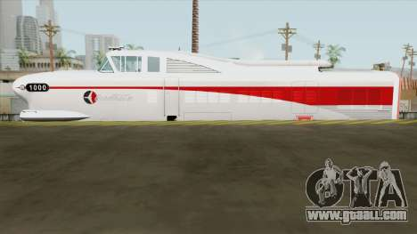 EDM LWT12 Locomotive (GM Aerotrain 1956) for GTA San Andreas