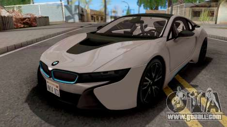 BMW i8 2018 for GTA San Andreas