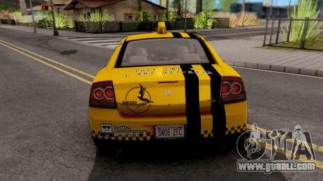 Dodge Charger SRT8 Taxi Itasha for GTA San Andreas