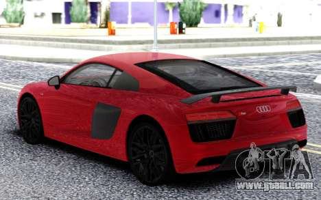 Audi R8 Red for GTA San Andreas
