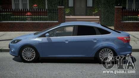 Ford Focus 3 Sedan for GTA 4