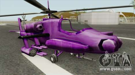 Shockwave Helicopter (Transformers The Game) for GTA San Andreas