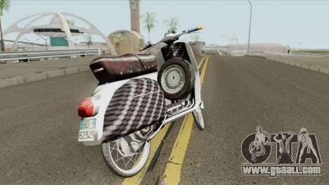 Vespa 180SS Rim Nouvo MX White Reborn for GTA San Andreas