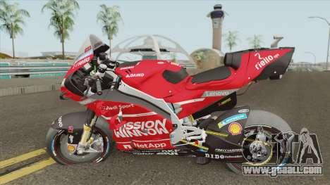 Ducati Desmosedici GP19 Andrea Dovizioso for GTA San Andreas