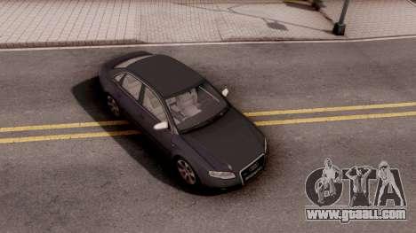 Audi S4 2006 for GTA San Andreas