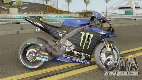 Yamaha YZR-M1 2019 Valentino Rossi for GTA San Andreas